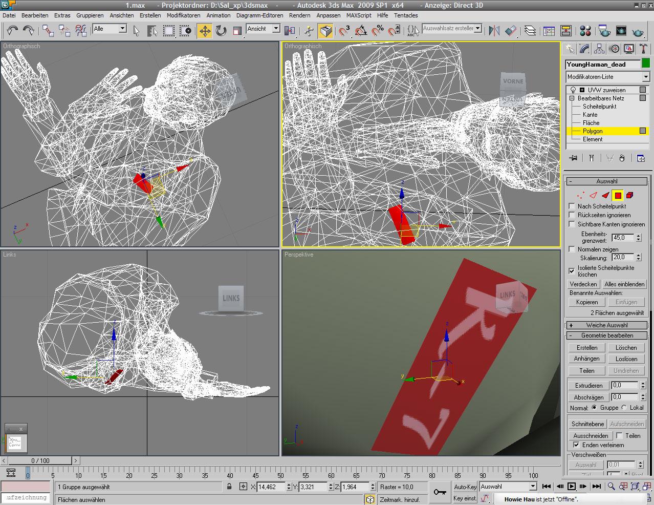 Extracting Killer 7 3d model data + 3d renders - Last Update